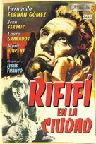 Rififí en la ciudad - Spanish DVD cover (xs thumbnail)