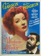 Madame Curie - Belgian Movie Poster (xs thumbnail)
