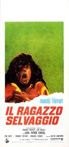 L'enfant sauvage - Italian Movie Poster (xs thumbnail)