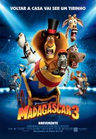 Madagascar 3: Europe's Most Wanted - Portuguese Movie Poster (xs thumbnail)