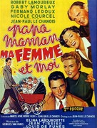 Papa, maman, ma femme et moi... - French Movie Poster (xs thumbnail)