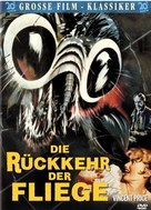 Return of the Fly - German DVD cover (xs thumbnail)