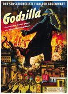 Gojira - German Movie Poster (xs thumbnail)