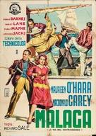 Malaga - Italian Movie Poster (xs thumbnail)
