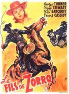 Son of Zorro - French Movie Poster (xs thumbnail)