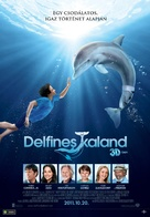Dolphin Tale - Hungarian Movie Poster (xs thumbnail)