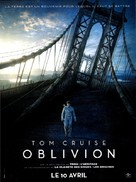 Oblivion - French Movie Poster (xs thumbnail)