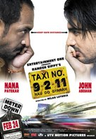 Taxi Number 9211 - Indian Movie Poster (xs thumbnail)