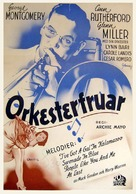 Orchestra Wives - Swedish Movie Poster (xs thumbnail)