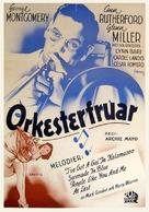 Orchestra Wives - Swedish Movie Poster (xs thumbnail)