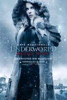 Underworld Blood Wars - German Movie Poster (xs thumbnail)