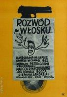 Divorzio all'italiana - Polish Movie Poster (xs thumbnail)