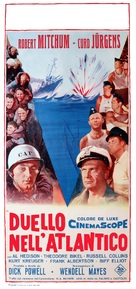 The Enemy Below - Italian Movie Poster (xs thumbnail)