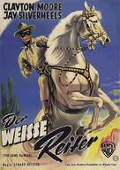 The Lone Ranger - German Movie Poster (xs thumbnail)