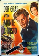 Le comte de Monte Cristo - German Movie Poster (xs thumbnail)