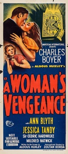 A Woman's Vengeance - Australian Movie Poster (xs thumbnail)