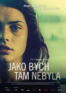 As If I Am Not There - Czech Movie Poster (xs thumbnail)