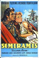 Cortigiana di Babilonia - Argentinian Movie Poster (xs thumbnail)