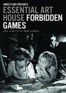Jeux interdits - DVD cover (xs thumbnail)