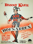The Court Jester - Danish Movie Poster (xs thumbnail)