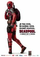 Deadpool - Czech Movie Poster (xs thumbnail)