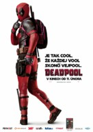 Deadpool - Czech Movie Poster (xs thumbnail)