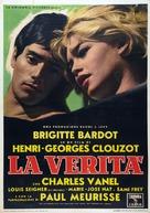 La vérité - Italian Movie Poster (xs thumbnail)