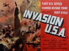 Invasion USA - British Movie Poster (xs thumbnail)