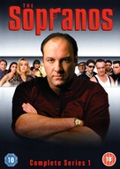 """The Sopranos"" - British Movie Cover (xs thumbnail)"