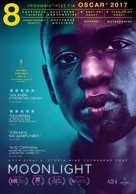 Moonlight - Greek Movie Poster (xs thumbnail)