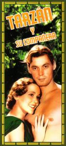 Tarzan and His Mate - Spanish Movie Cover (xs thumbnail)