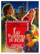 Visiteurs du soir, Les - French Movie Poster (xs thumbnail)