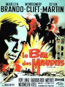 The Young Lions - French Movie Poster (xs thumbnail)