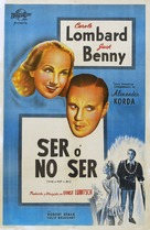 To Be or Not to Be - Argentinian Movie Poster (xs thumbnail)
