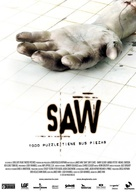 Saw - Spanish Movie Poster (xs thumbnail)