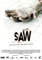 Saw - Spanish Movie Poster (xs thumbnail)