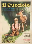 The Yearling - Italian Movie Poster (xs thumbnail)
