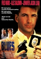 Miami Blues - German Movie Poster (xs thumbnail)