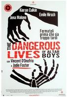 The Dangerous Lives of Altar Boys - Italian Movie Poster (xs thumbnail)