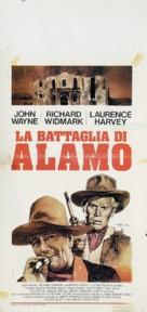The Alamo - Italian Movie Poster (xs thumbnail)