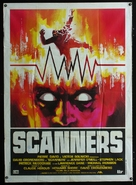 Scanners - Italian Movie Poster (xs thumbnail)