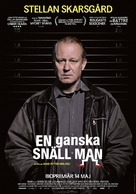 En ganske snill mann - Swedish Movie Poster (xs thumbnail)