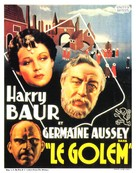 Le golem - French Movie Poster (xs thumbnail)