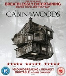 The Cabin in the Woods - British Blu-Ray movie cover (xs thumbnail)