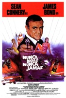 Never Say Never Again - Spanish Movie Poster (xs thumbnail)