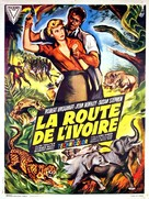 Golden Ivory - French Movie Poster (xs thumbnail)