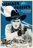 Moonlight on the Prairie - Swedish Movie Poster (xs thumbnail)