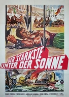 Maciste, l'eroe più grande del mondo - German Movie Poster (xs thumbnail)