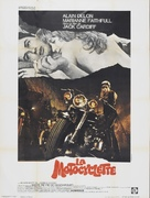 The Girl on a Motocycle - French Movie Poster (xs thumbnail)