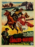 Return of the Frontiersman - Belgian Movie Poster (xs thumbnail)